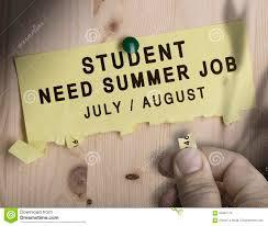 Summer Seasonal Jobs Summer Job Seasonal Jobs Search Stock Illustration Illustration