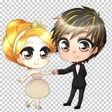 Cute Couple Png Wedding Invitation Chibi Animation Cute Couple Wedding
