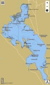 Upper Klamath Lake Fishing Map