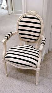 black and white striped chair a great vanity chair