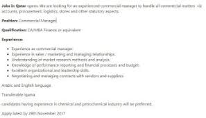 Head Of Sales Position In Pak Qatar | Jobs In Pakistan