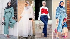 Je voulais partager deux tenues, une simple et une un plus flashy. 30 Cute Hijab Outfit Ideas For Chic Eid Gatherings