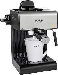 Rated 4 out of 5 by plynch from good machine but causing trouble i am on my second mr. Mr Coffee Steam Espresso Maker Coffee Maker Milk Frother Black Bvmc Ecm170 Best Buy