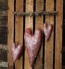 primitive valentine decor primitive valentine hearts door hanger e pattern from