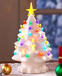 Best 25 Lighted Christmas Trees Ideas On Pinterest  Christmas Ceramic Tabletop Christmas Tree With Lights
