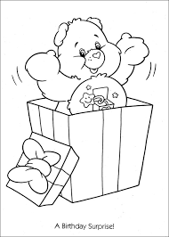 Small Picture Care Bears Coloring Pages 5 Coloring Kids