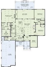 First Floor Plan of House Plan 82229....love this open floor plan