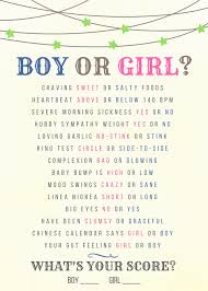 Gender Wives Tales Chart He Or She Old Wives Tales About Gender Prediction