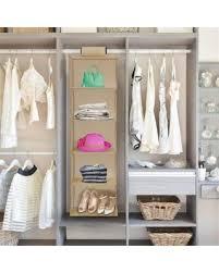 hanging closet organizer with drawers. Hanging Closet Organizer-5 Shelf Storage- Space Saving For Small Homes, Dorms, Organizer With Drawers
