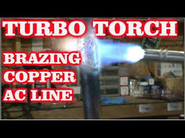 Turbo Torch Tip Sizes Chart Turbo Torch Brazing Copper Ac Line
