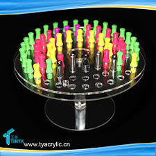 E Liquid Display Stand Manufacturer Customize 100ml E Liquid Juice Bottles Display Stand E 64