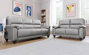 kenton small light grey 3 2 seater sofa
