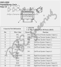 2006 chevy impala stereo wiring diagram good 2006 impala wiring 2006 chevy impala stereo wiring diagram amazing 2001 monte carlo ss factory amplifier wiring diagram 52