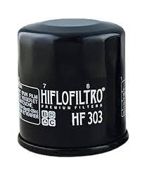 Hiflo Oil Filter Fitment Chart Hiflofiltro Hf303 Black Premium Oil Filter