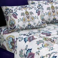 tribeca living 200 gsm printed deep pocket flannel sheet set