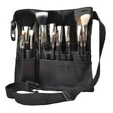 uk professional cosmetic makeup brush a bag artist belt strap holder black china mainland