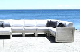 modern outdoor sectional. Modern Patio Furniture Set Elegant Cast Aluminum Outdoor Sectional