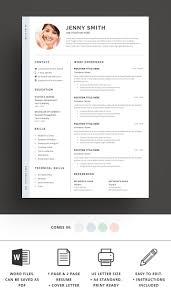 91 Clean Resume Template Clean Resume Template Word Free