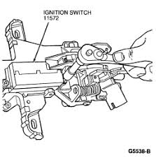 i have a 1996 ford mustang gt for awhile i was having problems Mustang Ignition Switch Wiring Diagram 1991 ignition switch and the removal instructions graphic 67 Mustang Ignition Wiring Diagram