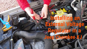 installing an external voltage regulator on a jeep cherokee xj installing an external voltage regulator on a jeep cherokee xj