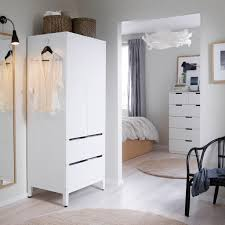 ikea white bedroom furniture. Contemporary Home Decoration Using IKEA Bedrooms For Young Adults: White Bedroom Furniture Set And Ikea W