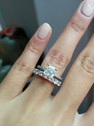 Wedding Rings With A Micro Pave Engagement Ring Weddingbee