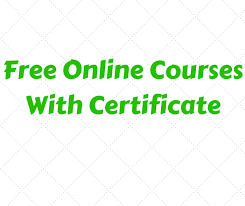 Online Certificates Free 25 Free Online Courses With Certificates Of Completion Theinfofinder