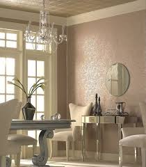 images hollywood regency pinterest furniture: hollywood regency dining room colored textured wall white furniture mirrors