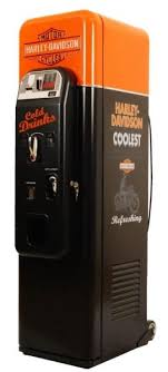 Harley Davidson Vending Machine Delectable Harley Davidson Vending Machine Soda Or Beer