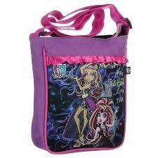 """Сумка-<b>планшет</b> """"<b>Monster High</b>"""", цвет: розовый, фиолетовый. 85303"""