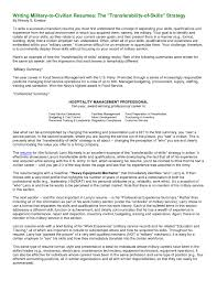 Military Resume Rare Military To Civilian Resume Free Samples Veteran Examples 31