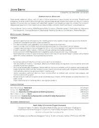 Sample Resumes For Administrative Assistants Best of Resumes Administrative Assistant Creerpro