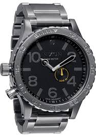 big watches because bigger is better nixon 51 30 all gunmetal black nixon