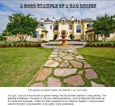 bad garden design in america