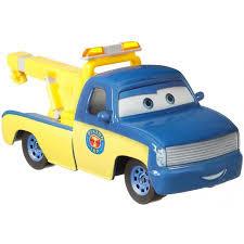 Disney/Pixar Cars Race Tow Truck Tom Die-Cast Character Vehicle ...