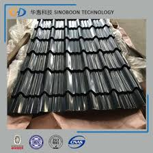 black corrugated roofing steel sheet with 30 years experience