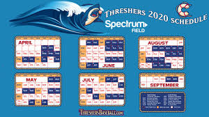 Clearwater Threshers Seating Chart Threshers Announce 2020 Schedule Clearwater Threshers News