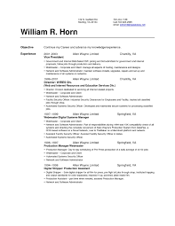 Set Up Resume Free Resume Example And Writing Download