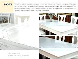 decoration newest clear soft glass table covers thickness tablecloth plastic cloth for wedding ikea tablecloths