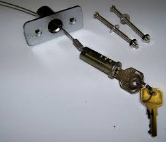 Brilliant Garage Door Lock Cylinder E In Models Ideas