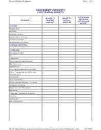 Simple Household Budget Spreadsheet Uk Basic Familytes Sample