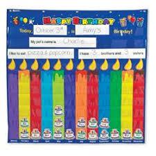 Birthday Pocket Chart Celebrate Birthdays And Create A