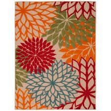 nourison aloha alh05 indoor outdoor area rug 7 x 10 outdoor rug t58