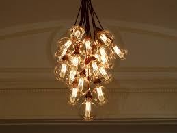 filament light bulb chandelier inspiration for an upcoming lde hipster wedding reception