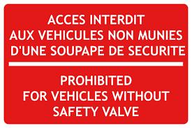 """Résultat de recherche d'images pour """"interdit aux vehicules"""""""