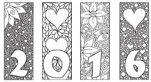 Small Picture Adult coloring page new year 2016 2016 Card 4