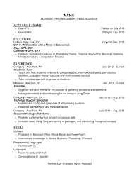 list gpa on resumes