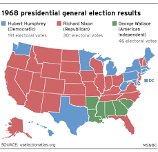 In 1968, Democratic split helped Nixon win - politics | NBC News