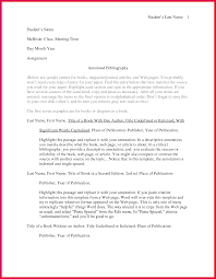 Annotated Bibliography Template Annotated Bibliography Template Sop Examples