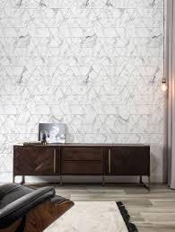 Kek Amsterdam Behang Marble Mosaic Wit 974 X 280 Cm Kopen